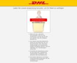 Gefälschte Meldung von DHL