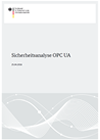 Deckblatt Sicherheitsanalyse Open Platform Communications Unified Architecture (OPC UA)